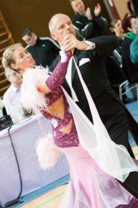 Carsten und Ilona Schlalos TTC Oldenburg Foto: Carsten Wolfering